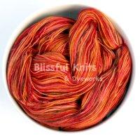 'Spice' on Eos SW Merino - Sock 4oz