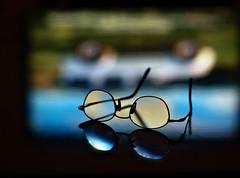 reflection closeup glasses frames upsidedown olympus vision eyeglasses lenses wefi spectables visonglassesreflection anneworner