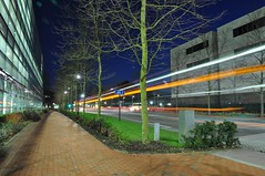 University Road at Night (crwilliams) Tags: night lights university hampshire southampton universityofsouthampton