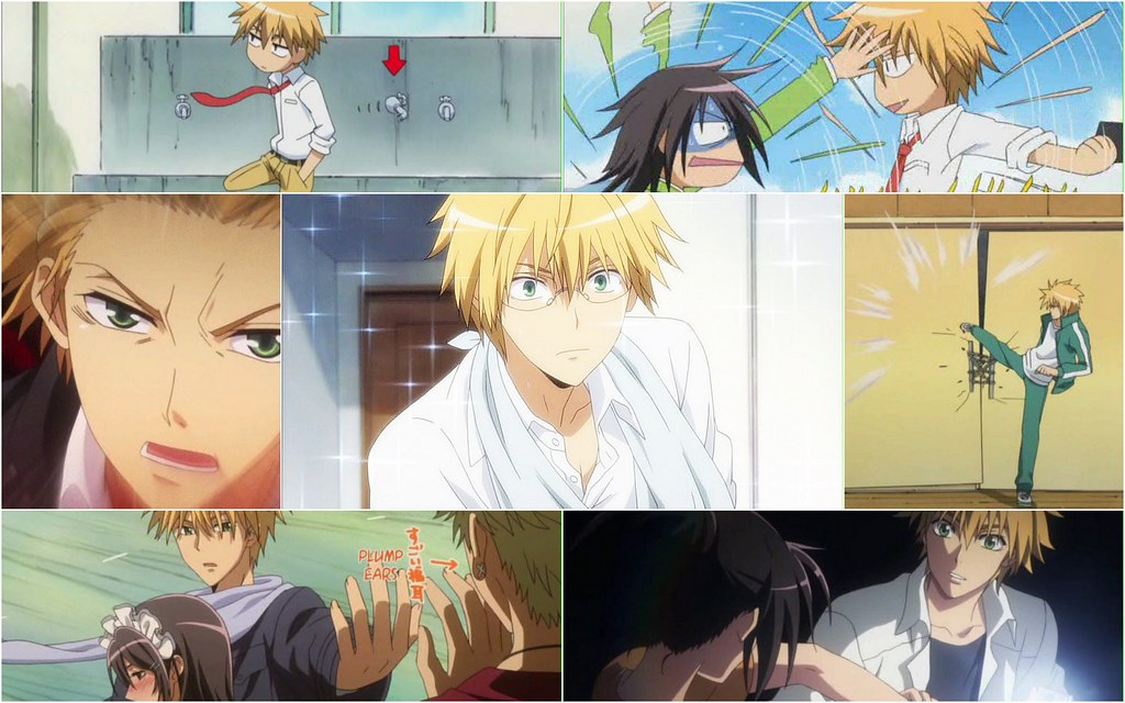 Maid Sama-Many faces of Usui Takumi