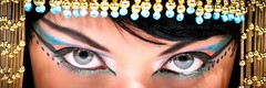 Cleopatra Goddess eyes (VictoriaCosplay) Tags: eye eyes goddess egypt makeup angelinajolie egyptian isis nefertiti cleopatra eyemakeup elizabethtaylor headress victoriacosplay wwwcosplaygirlwebscom monsterhigh cleodenile