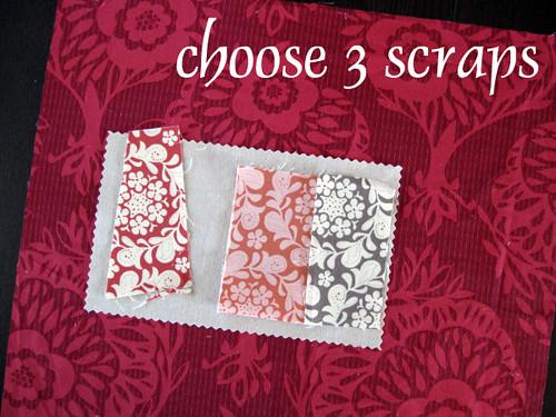 Choose scraps