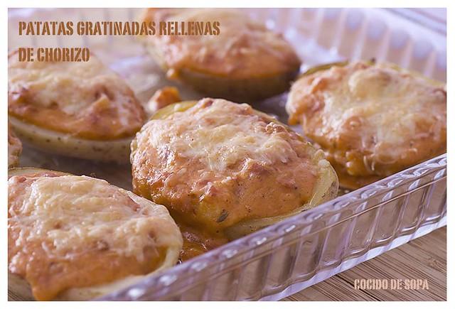 Patatas gratinadas rellenas de chorizo_3
