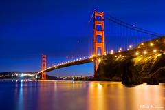 San Francisco Golden Gate Bridge twilight blue moment (davidyuweb) Tags: bridge blue golden twilight gate san francisco moment sfbay sfist