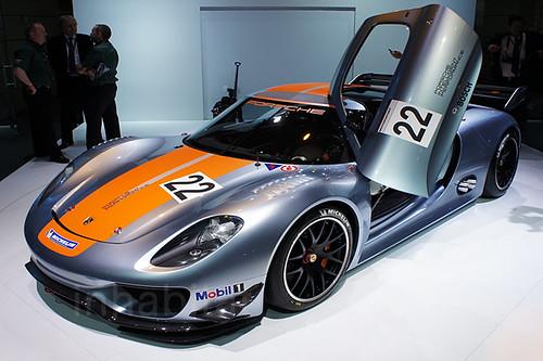 Porsche 918 Hybrid Race Car. Porsche 918 RSR Hybrid Race Car. Photo copyright Jill Fehrenbacher for