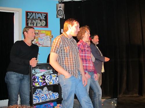 Improv Comedy 101 Class Performs