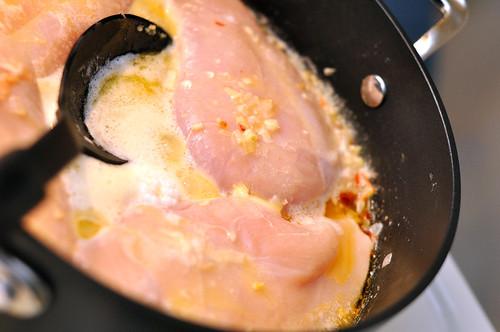 Chicken in Champagne Cream Sauce