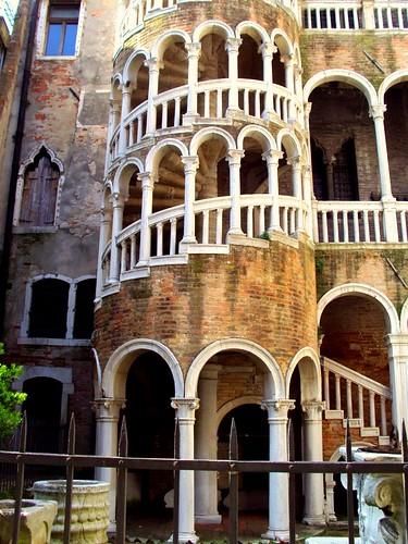 Budapest to Venice Attractions and Sights St Mark's Square Scala Contarini del Bovolo