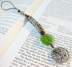 Forest of a Druid - cell phone charm