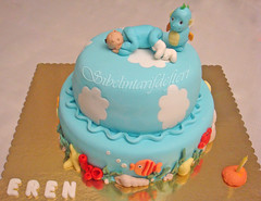 DENİZATI VE ÇOCUK (Sibelintarifdefteri) Tags: cake pasta çocuk denizatı
