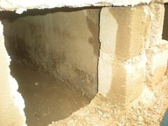 Double vault - outside view (Sustainable sanitation) Tags: construction mud pipe adobe blocks pan vault household slab burkinafaso squatting uddt