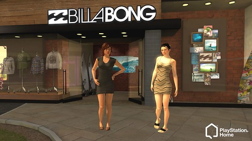 PlayStation Home Update - New Billabong Clothing