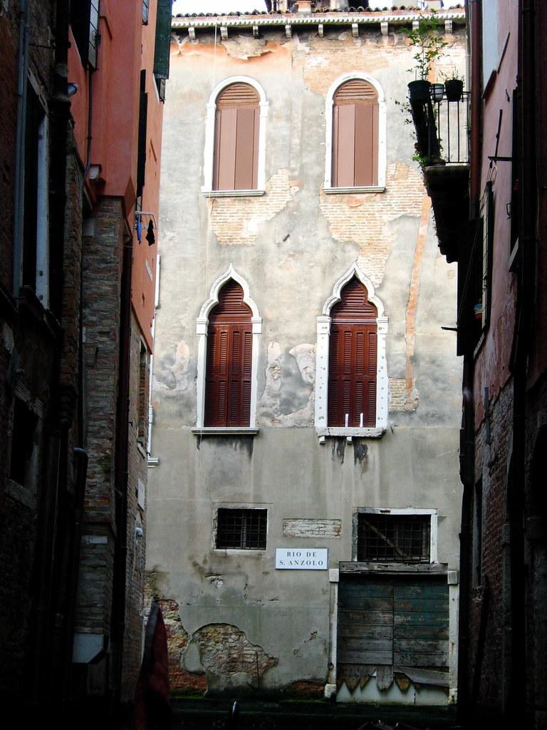 Venice from a Gondola