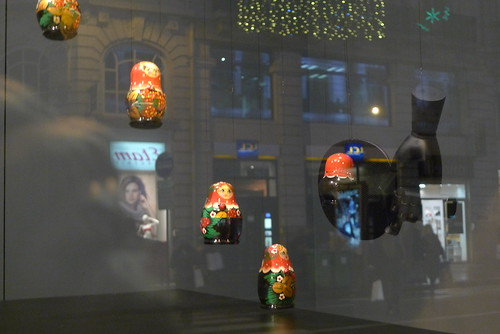 Vitrines Le Bon Marché - Paris, janvier 2011