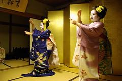 Maiko  MGP0410a (September_Okayama) Tags: autumn portrait woman girl beauty japan japanese kyoto pentax traditional maiko geiko geisha  kimono  tamron kanzashi    k10d kikune 28250    kikushino