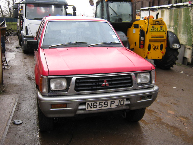 1996 l200 mitsubishi 2477cc n659pjo