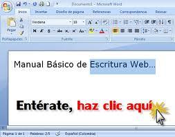 Manual Básico de Escritura Web