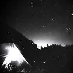 Sierra (Lumase) Tags: camp bw night square stars tent sierra moonrise dust muir valgrande salewasierramicra