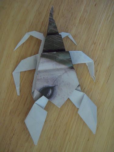 Origami #10: Scorpion