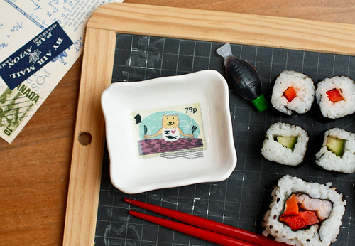Stamps Dipping Bowl - I heart fish