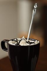 20110115-005 (Aaron Cat) Tags: macro coffee canon eos hsinchu usm latte f28 新竹 竹北 ef100mm 400d 六家 santè 小酒館 aaronhsu