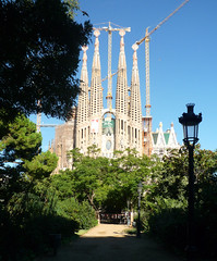 Antoni Gaudí, Sagrada Familia, View to Left Trancept