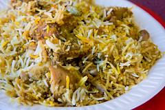 Hyderabadi chicken biryani, Deccan Kabab