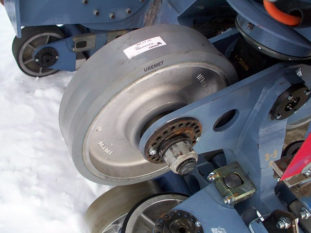 Cedar Point - Off-Season Millennium Force Wheels