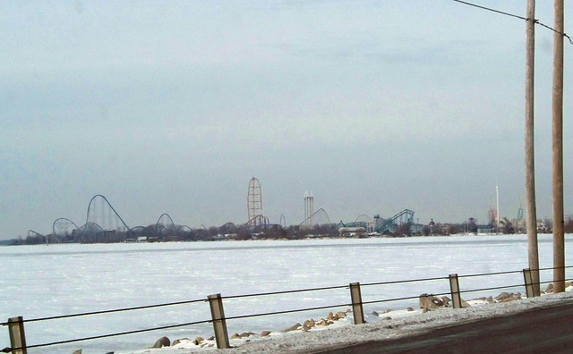 Cedar Point - Off-Season Bay View