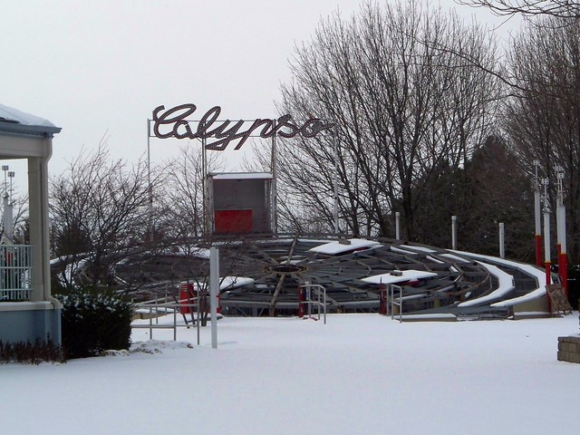 Cedar Point - Off-Season Calypso