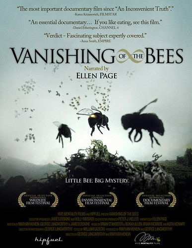 Enter to WIN 1 of 5 Vanishing of the Bees DVD's