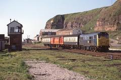 Safe Haven (Feversham Media) Tags: cumbria whitehaven britishrailways westcumbria 31404 class31 bransty brushtype2 cumbriacoastline