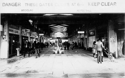 Castlemilk Shopping Arcade 1983