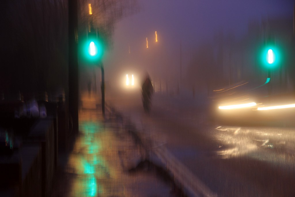 early morning blur