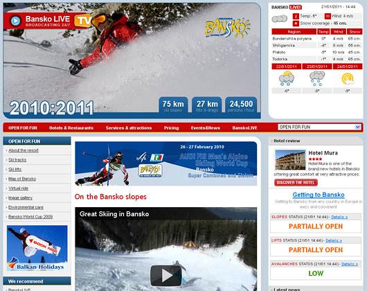 Ski et snowboard à Bansko en Bulgarie