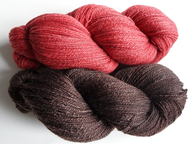 SCF-Hades-club May 2010-Polwarth-Tencel-2-ply-together total of 1172yds-2