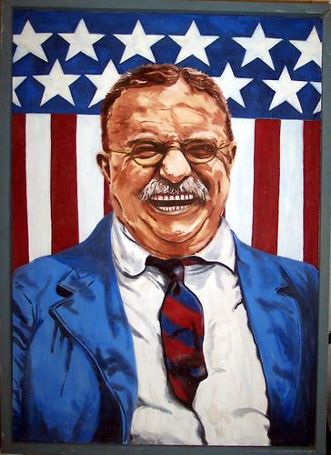 From flickr.com: Teddy Roosevelt, by Martin {MID-222656}