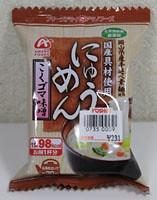 アマノフーズ にゅうめん こくゴマ味噌