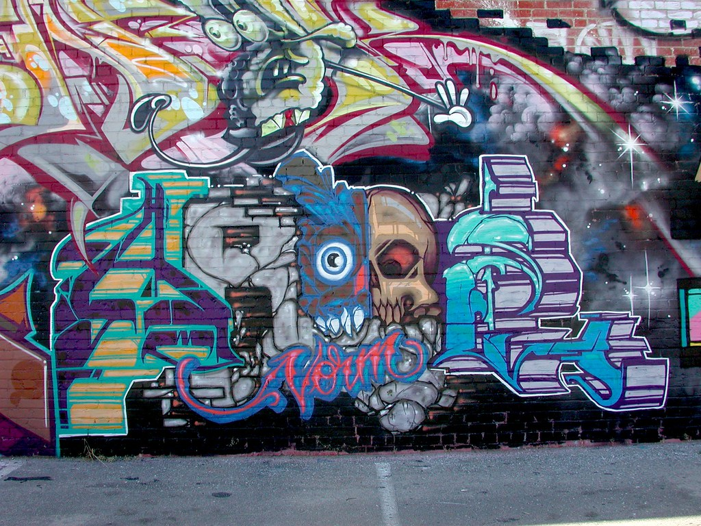 AROE, MSK, LA, Los Angeles, Graffiti
