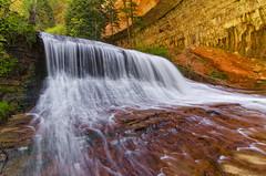 Spring Falls (Bill Ratcliffe) Tags: water utah waterfall cascades zion zionnationalpark southernutah thesubway springrunoff d7000 zionsubway zionwaterfall zionspring subwaycascade subwaywaterfall