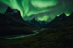 The Final Frontier (arturstanisz1) Tags: arturstanisz arctic auroraborealis canadianarctic canada mountains mountthor photgraphy phototours