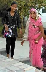 Young pilgrims (bokage) Tags: india madhyapradesh sonagiri sonagir bokage pilgrim jain digambara temple dress