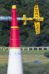 RU72 (MK16photo) Tags: nikon nikond7100 d7100 cropsensor dx apsc markkolanowski mkphoto mk16photo sigma sigma150600 sigma150600s sigma150600sport 150600 telephoto zoom 150600mmf563dgoshsm|s redbull airrace redbullairrace redbullairraceascot ascot uk unitedkingdom england ascotracecourse low fast plyon extreme aerobatics red bull air race london greatbritain gb airshow smokeon berkshire propblur 2016 master class masterclass plane airplane aircraft flying aviation avgeek nigel lamb 9 mxsr mxs breitling gbr yellow black