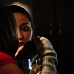 Girl in a Beijing Bar (Jonathan Kos-Read) Tags: china portrait night asia chinesecinema asiancinema chinesefilm asianfilm asianactress asianeyes chinesetv hotasiangirl hotchinesegirl asiantv chineseactress chineseeyes asianshowbusiness chineseshowbusiness