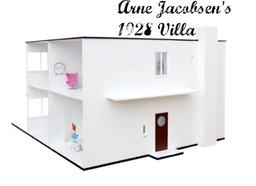 Modern Dollhouse - Arne Jacobsen's 1928 Villa