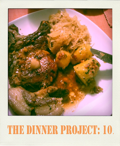 the dinner project: kw 46.