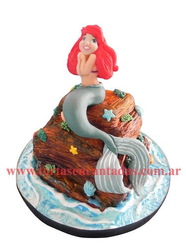 Little Mermaid Cake /Torta de La Sirenita