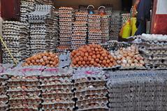 Egg shop in the medina in Marrakech. (elsa11) Tags: food shop eggs marrakech souk medina marrakesh souq eieren