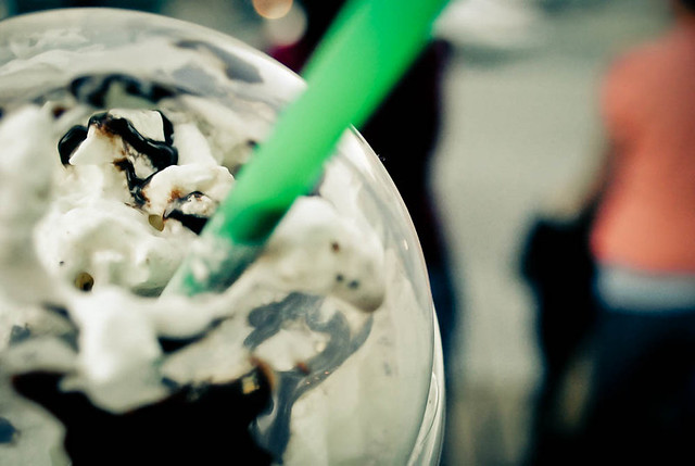 double chocolate chip frappuccino