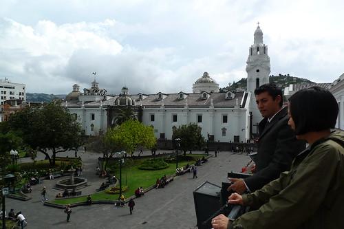 Balcony - Presidential Palace - Quito, Ecuador
